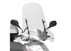 102A - Givi screen transparent 66x68cm Honda Dylan 125-150 MBK Flamex125