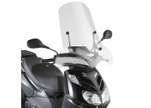 134A - Givi screen transparent 66x67cm Aprilia Sportcity Cube 125-200-300