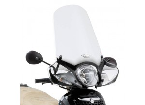 154A - Givi screen transparent 53x70cm Aprilia Scarabeo 125-200 (07 > 11)