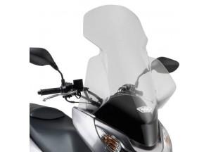 323DT - Givi Specific screen, transparent 82 x 58 cm Honda PCX 125-150 (10 >13)