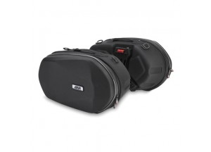 3D600 - Givi Pair of side bags Thermoformed in covered ABS - Easylock
