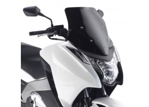 D1109B - Givi Specific low sports screen gloss black 47x43 Honda Integra 700/750