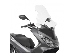 D1130ST - Givi Screen transparent 81.5x55 cm Honda PCX 125-150 (14 > 16)