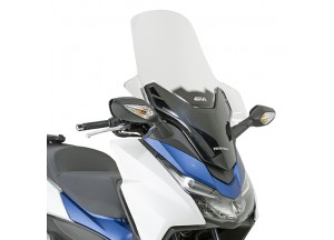 D1140ST - Givi Screen transparent, 70,5x63 cm Honda Forza 125 ABS (15 > 16)