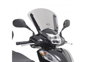 D1143S - Givi Specific smoked low screen Honda SH 300i (15 > 16)