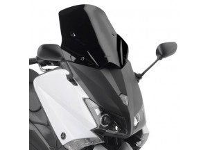 D2013B - Givi low sports screen black 46x48 cm Yamaha T-MAX 530 (12 > 16)