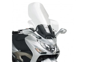 D293ST - Givi Screen transparent 87x64 cm Kymco Xciting 250-300-500 (05 > 09)