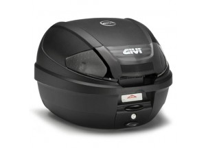 E300NT2 - Givi Top Case Monolock 30lt Black/Smoked Reflectors