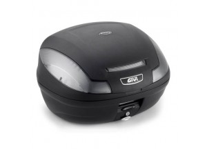 E470NT - Givi Top Case Monolock E470 SIMPLY III TECH 47lt Black/Smoked