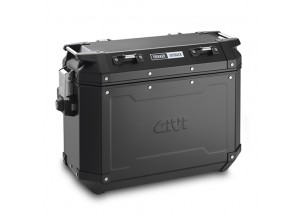OBKN37BL - Givi Left Trekker Outback Black Line side case 37ltr