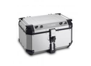 OBKN58A - Givi Trekker Outback natural aluminium top-case, 58 ltr