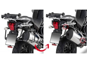 PLR6403 - Givi Side Case Holder MONOKEY Trumph Tiger Explorer 1200 (12 > 15)