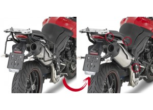 PLR6404 - Givi Side Case Holder MONOKEY Triumph Tiger Sport 1050 (13 > 15)