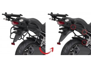 PLXR4105 - Givi Side Case Holder  V35 MONOKEY SIDE Kawasaki Versys 1000