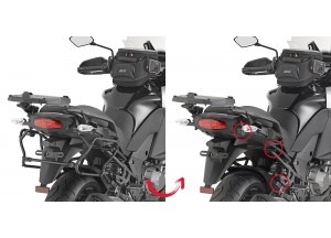 PLXR4113 - Givi Side Case Holder  V35 MONOKEY SIDE Kawasaki Versys 1000