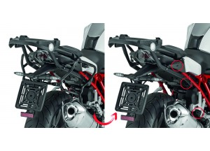 PLXR5117 - Givi Side Case Holder  V35 MONOKEY SIDE BMW R 1200 R/RS