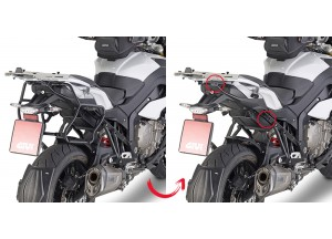 PLXR5119 - Givi Side Case Holder  V35 MONOKEY SIDE BMW S 1000 XR (15 > 16)