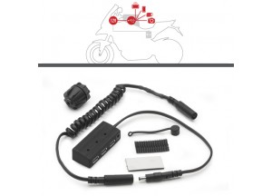 S111 - Givi Hub kit for the electrical feed for the tank bags.