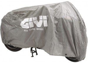 S200 - Givi Universal bike cover. Colour: light grey (not waterproof)