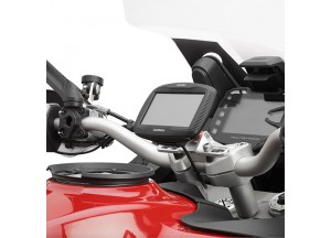 SGZ39SM - Givi Anodized handle bar to install GPS Garmin Zumo on S901A