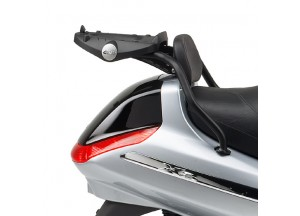 SR102M - Givi Rear rack for MONOLOCK Piaggio X8 (04 > 10) / X-Evo (07 > 11)