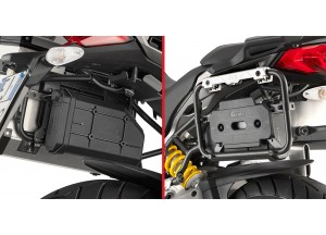 TL1146KIT - Givi kit to install S250 on PLR7406CAM Ducati Multistrada 950 (17)