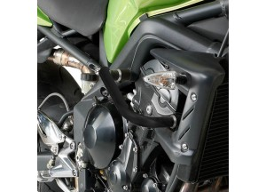 TN226 - Givi Specific engine guard chromed Triumph Street Triple 675 (07>12)