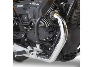 TN8202 - Givi Specific engine guard black Moto Guzzi V9