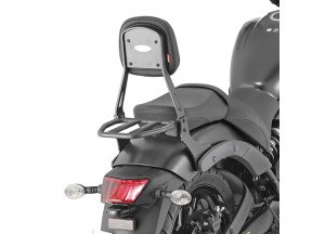 TS4115B - Givi Backrest with small luggage carrier black Kawasaki Vulcan S 650