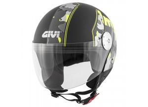 Helmet Jet Givi 10.7 Mini-J Graphic Camouflage