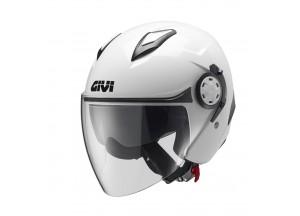 Helmet Jet Givi 12.3 Stratos White