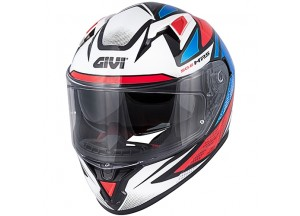 Helmet Full-Face Givi 50.6 Stoccarda Follow Black White Blue Red