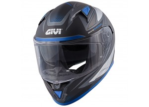 Helmet Full-Face Givi 50.6 Stoccarda Follow Matt Titanium Silver Blue