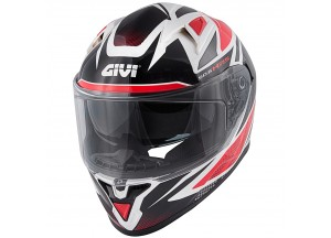 Helmet Full-Face Givi 50.6 Stoccarda Follow Black White Red