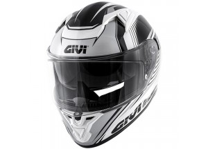 Helmet Full-Face Givi 50.6 Stoccarda Matt Titanium White