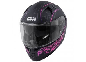 Helmet Full-Face Givi 50.6 Stoccarda Mendhi Black Pink