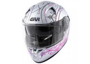 Helmet Full-Face Givi 50.6 Stoccarda Mendhi Silver Pink