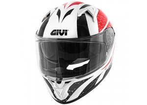 Helmet Full-Face Givi 50.6 Stoccarda Perseus Red Black