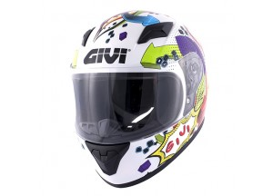 Helmet Full-Face Givi J.04 Junior 4 Glossy White