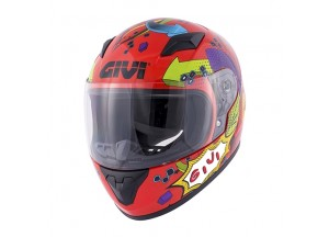 Helmet Full-Face Givi J.04 Junior 4 Glossy Red
