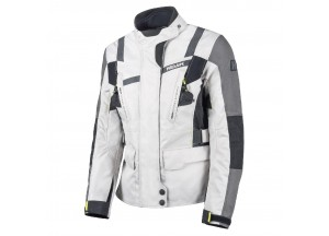Jacket Hevik 2 Layers Stelvio Lady Ice-Grey