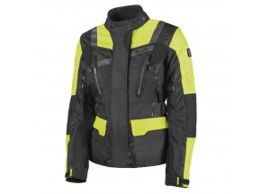Jacket Hevik 2 Layers Stelvio Lady Black Fluo-Yellow