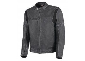 Leather Jacket Hevik Mustang Black