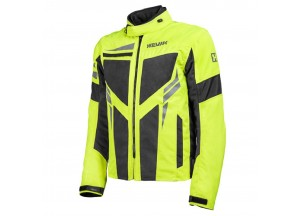 Jacket Hevik Ikaro Black Fluo-Yellow