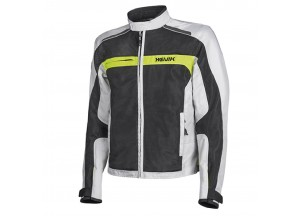 Jacket Hevik Scirocco Black Grey Fluo-Yellow