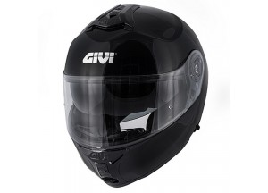 Helmet Modular Openable Givi X.20 Expedition Solid Color Glossy Black