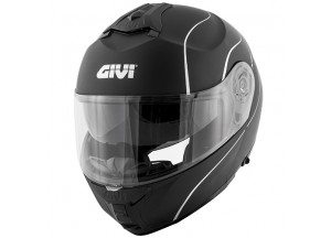 Helmet Modular Openable Givi X.21 Challenger Matt Black