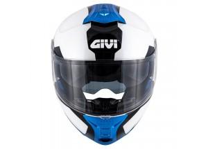 Helmet Modular Openable Givi X.21 Challenger Spirit white black blue