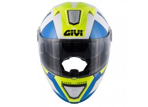 Helmet Modular Openable Givi X.23 Sydney Protect White Blue Yellow