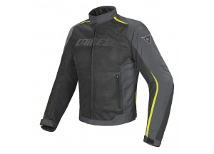 Jacket Dainese D-Dry Hydra Flux Waterproof Summer Black/DarkGray/Yellow